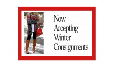 Now Accepting Winter Consignment